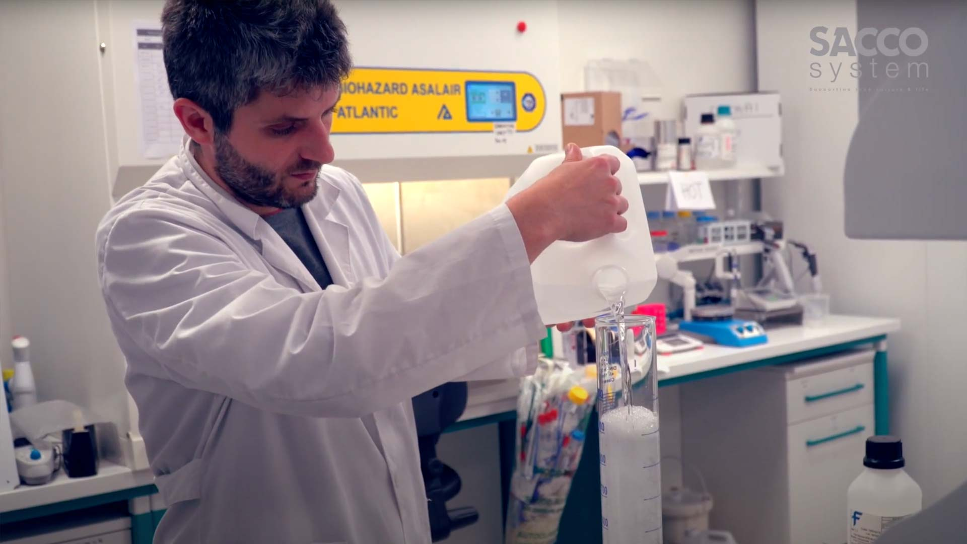 Biotech Production Process – Probiotics by Sacco System